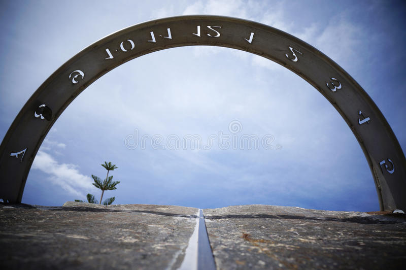 Download Sundial stock image. Image of geraldton, time, dial, shadow - 23618563