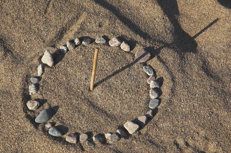sundial royaltyfri foto