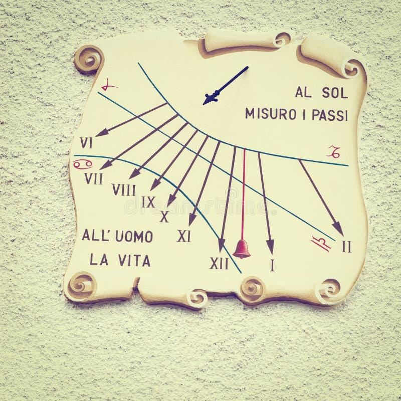 sundial fotografering för bildbyråer
