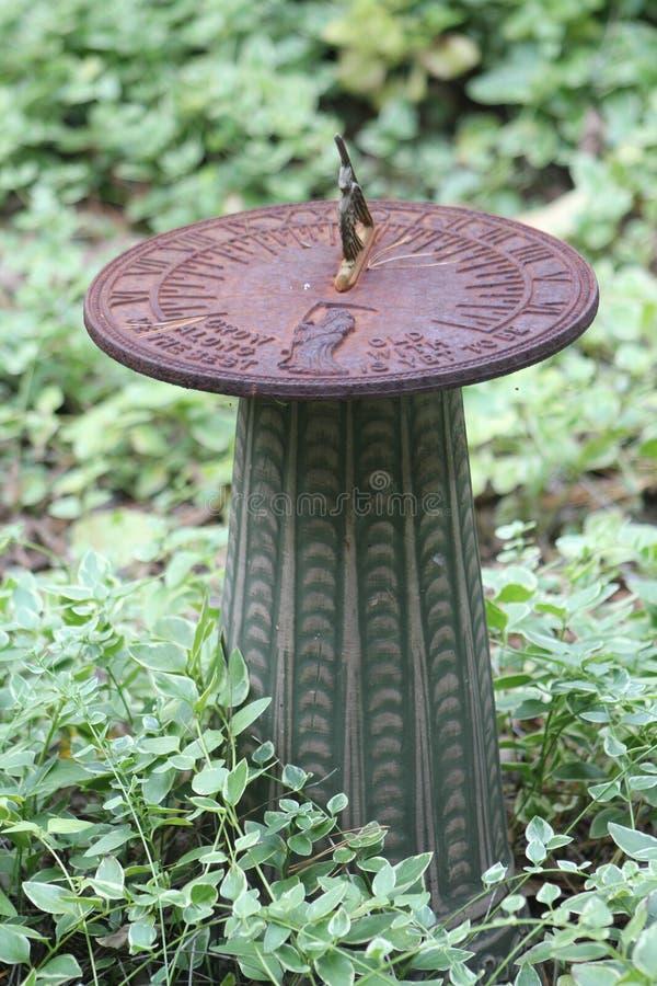 sundial royaltyfri bild
