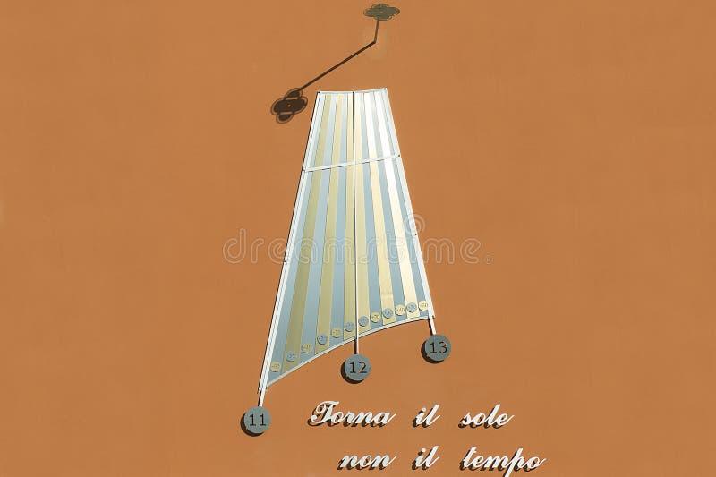 sundial στοκ φωτογραφία