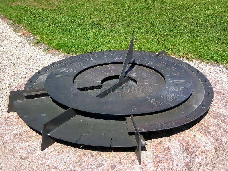 sundial стоковые изображения rf