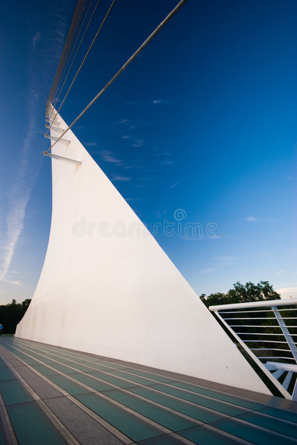 Free Sundial Bridge, Redding, California Royalty Free Stock Photo - 4301655