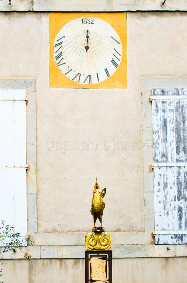Sundial royalty free stock photos