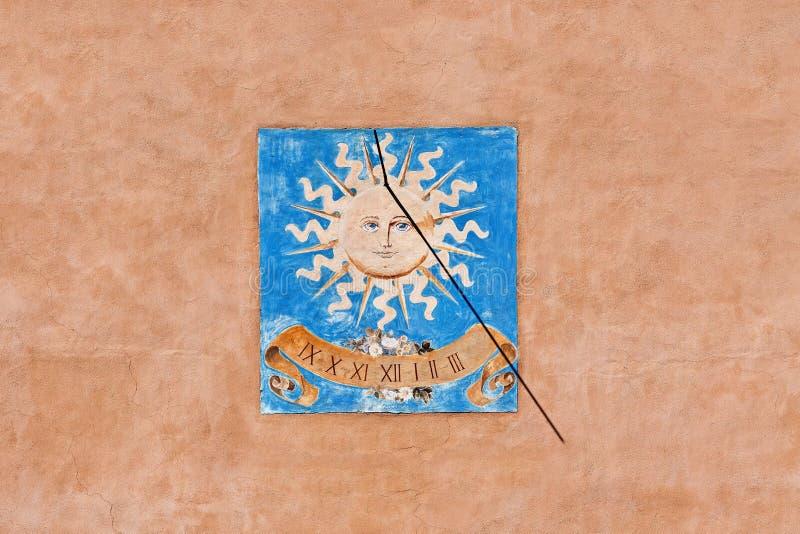 Sundial - die Wintersonnenwende lizenzfreie abbildung