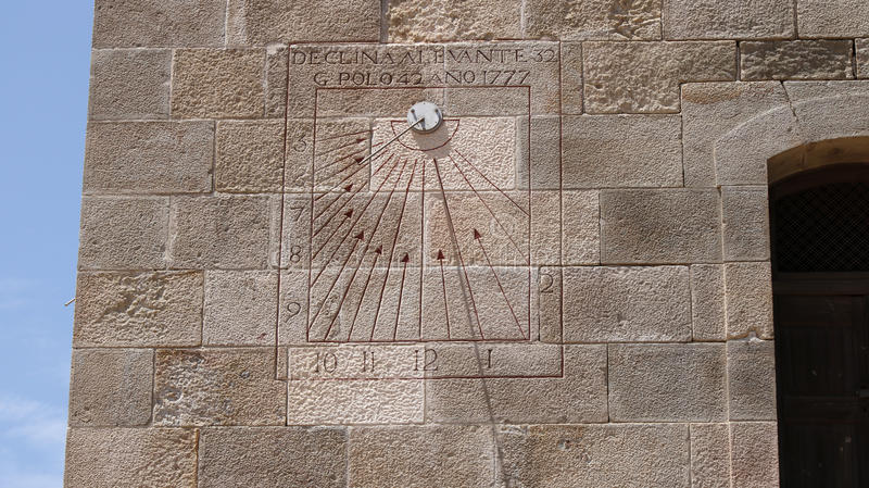 Old Sun Dial Wall Stock Images Download 405 Royalty Free
