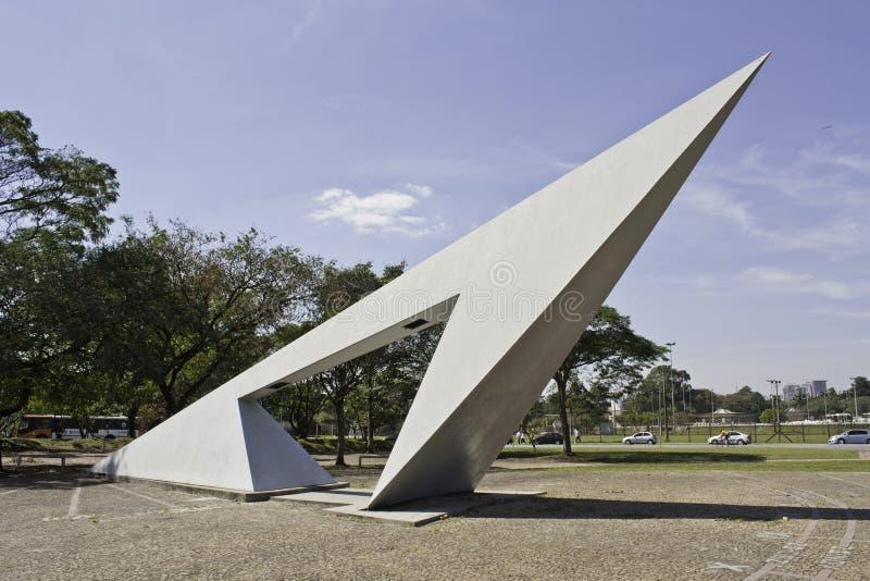 Sundial - USP - São Paulo - Brasil imagens de stock royalty free