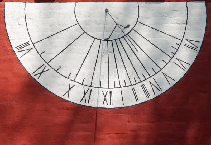 Sundial watch stock image