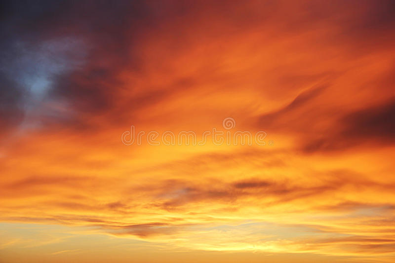 Sundown över is arkivbild