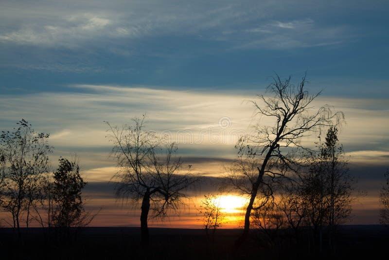 sundown stock fotografie