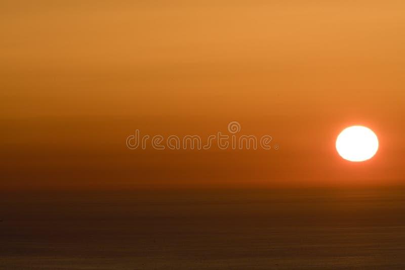 Sundown stock image