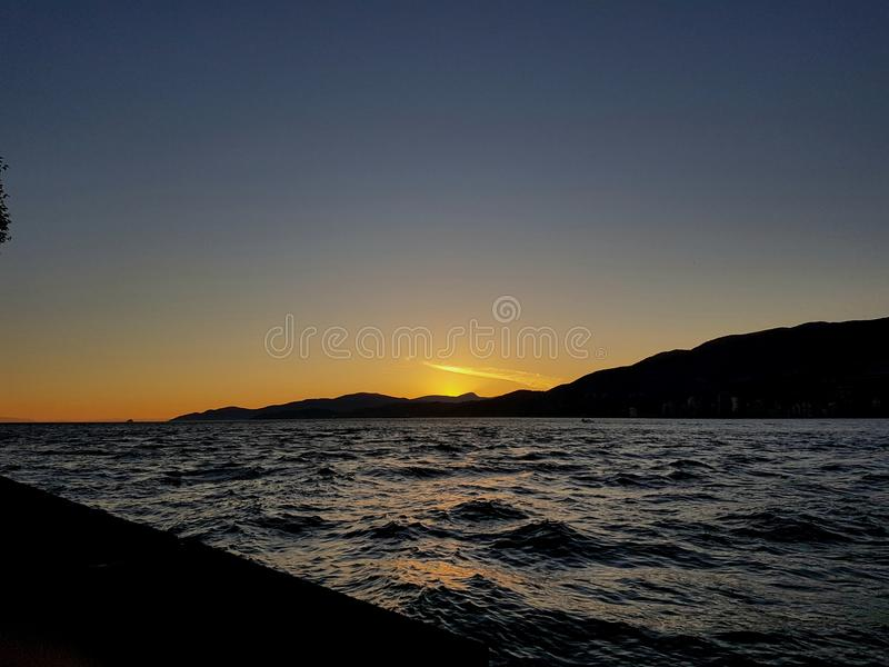 sundown imagens de stock