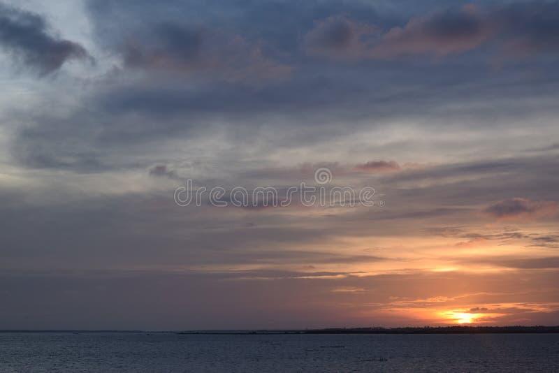 Sundown royalty free stock photo