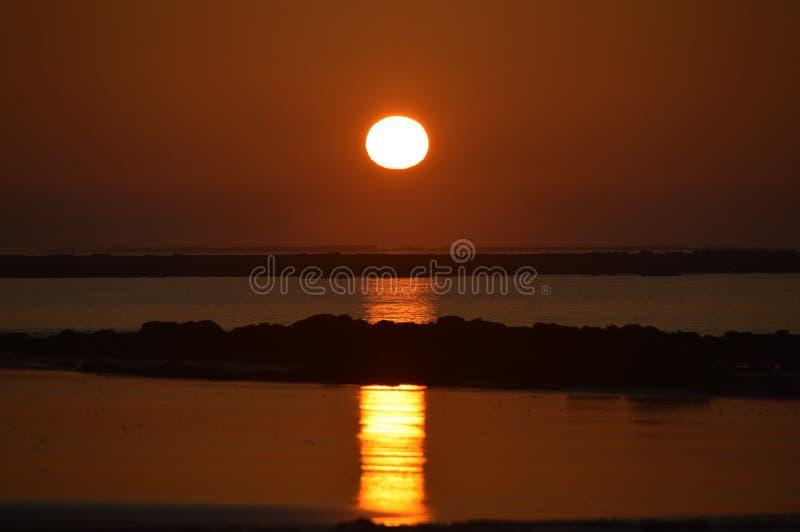 Sunrise at shoram beach victoris. Right place , right time , ocean australia stock photo