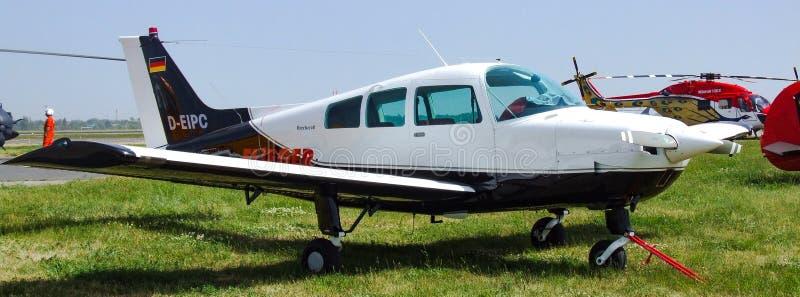 Sundowner de Beechcraft C23 avec les inscriptions allemandes de D-EIPC photo libre de droits