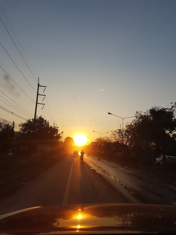 Sundowner Tajlandia zdjęcia stock