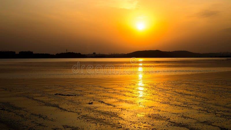 sundowners fotografia stock