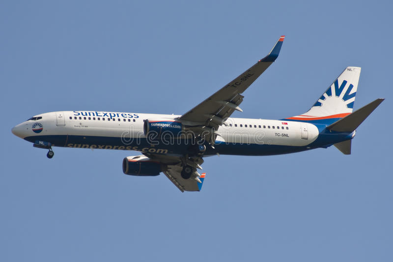SunExpress airline stock images