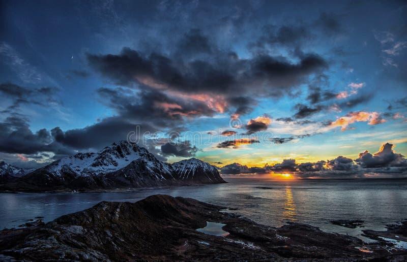 Sunfall foto de archivo libre de regalías