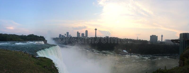 Sunfalls on Niagara stock photos