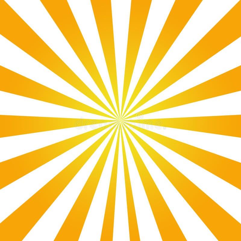 sunflare konsystencja sunrays tła ilustracja wektor