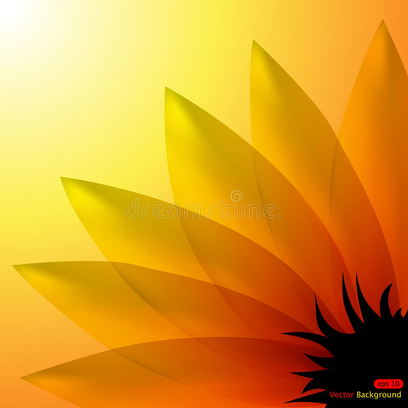 Sunflower royalty free illustration