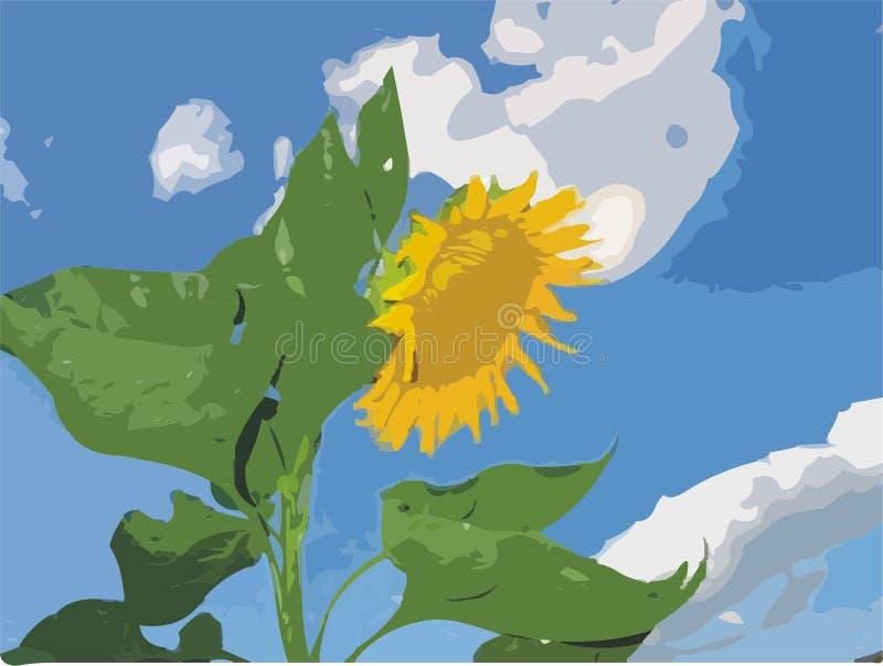 Download Sunflower stock illustration. Illustration of sunflower - 451439