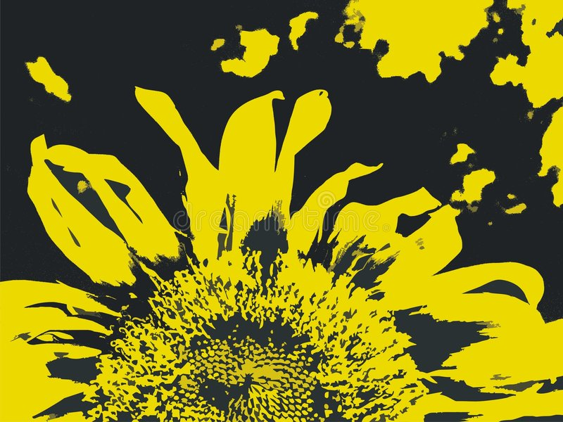 Download Sunflower stock illustration. Image of background, freedom - 6001677
