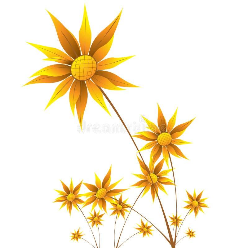 Download Sunflower stock illustration. Illustration of environmentalism - 8312837