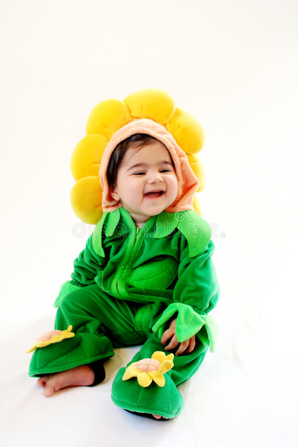 Download Sunflower Baby Royalty Free Stock Photos - Image: 4348508