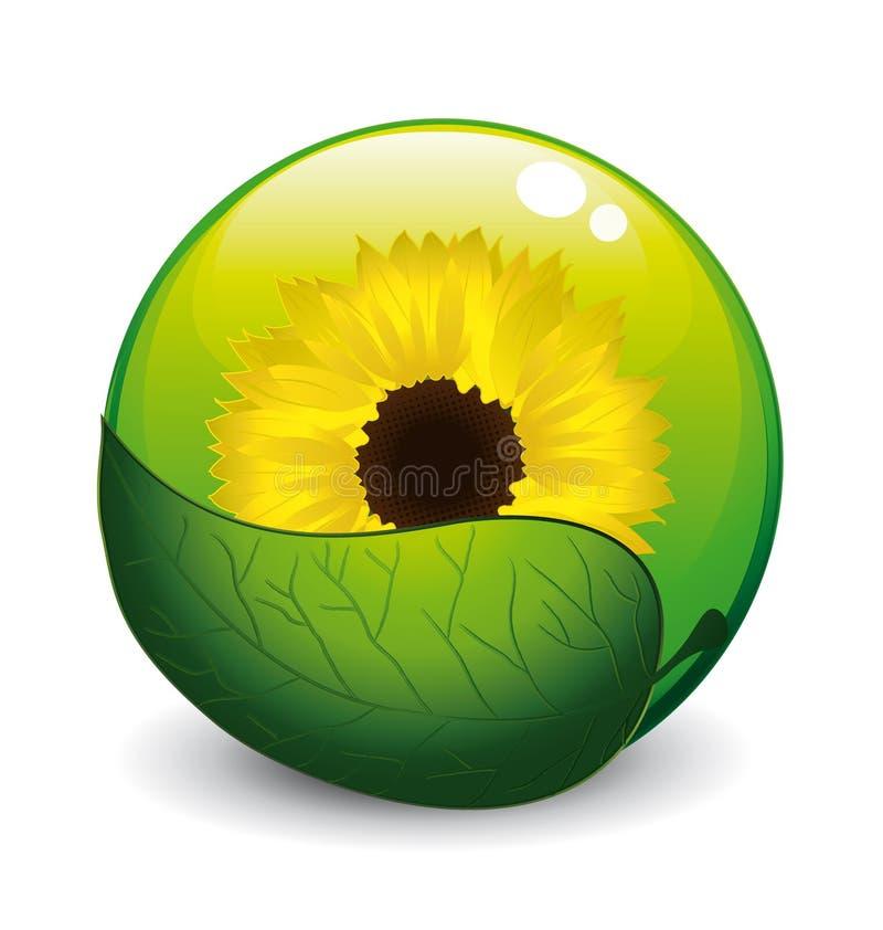 Download Sunflower concept stock vector. Illustration of droplet - 8533031