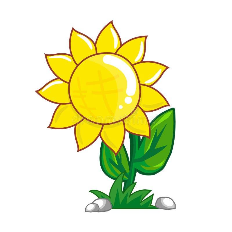 Download Sunflower stock vector. Illustration of blooms, garden - 31687027