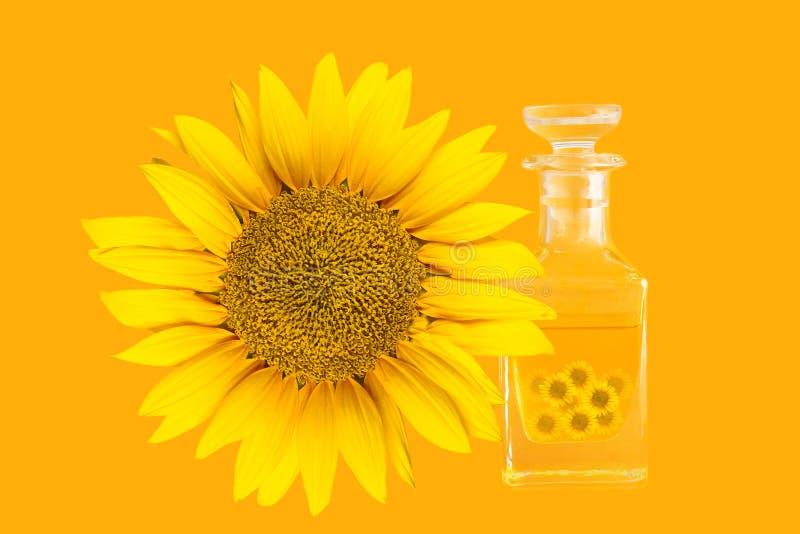Download Sunflower oil stock image. Image of flower, orange, ecology - 25935207