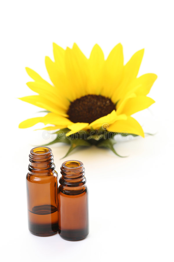 Sunflower oil royalty free stock photography