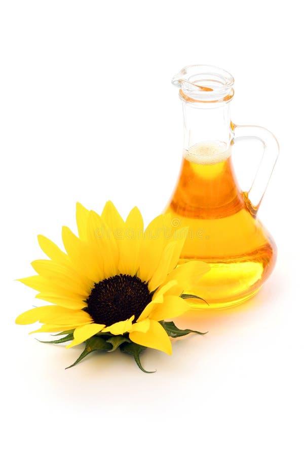 Sunflower oil royalty free stock photo
