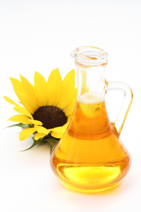 Sunflower oil stock image