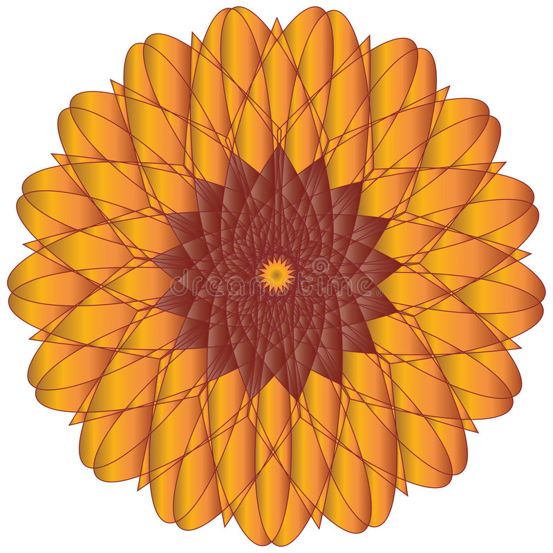 Free Sunflower Or Marigold Vector Royalty Free Stock Image - 8026816