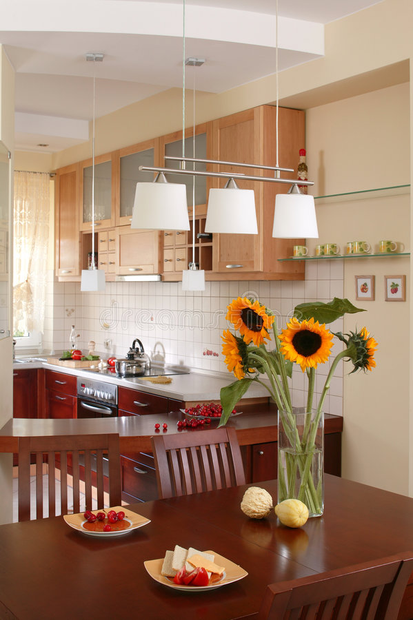 Free Sunflower`s Kitchen Stock Image - 918711