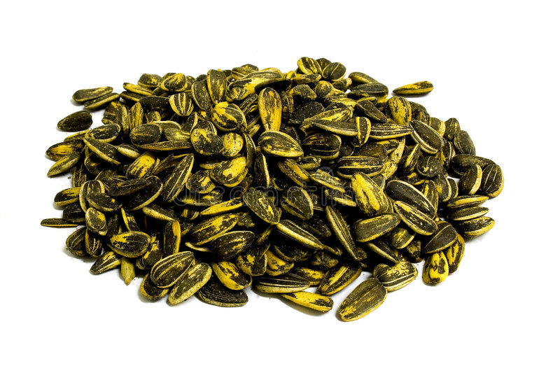 Download Sunflower seed pile stock image. Image of sunflower, food - 47817