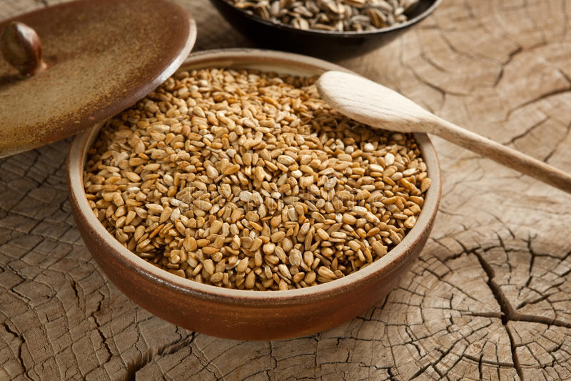 Sunflower seeds roasted in tamari