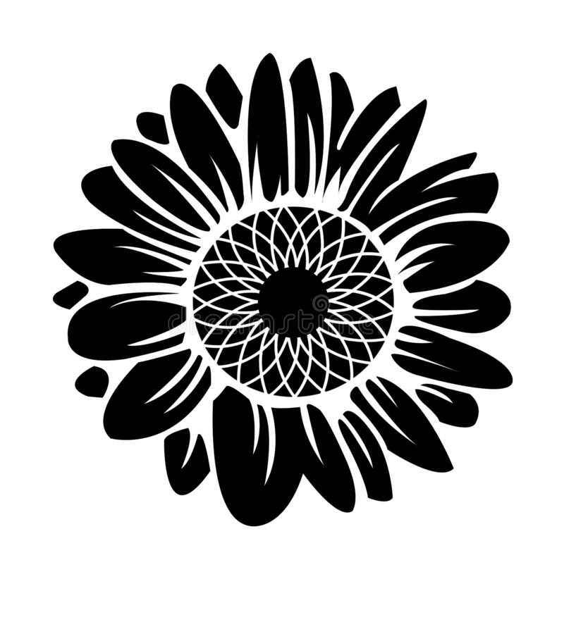 Sunflower Silhouette Stock Illustration Illustration Of Decorative 167170762 Sunflower silhouette free vector we have about (5,792 files) free vector in ai, eps, cdr, svg vector illustration graphic art design format. sunflower silhouette stock illustration