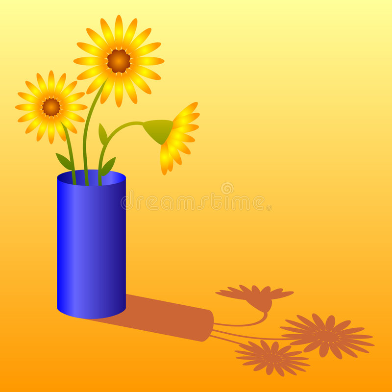 Free Sunflowers In Vase Royalty Free Stock Image - 4712226