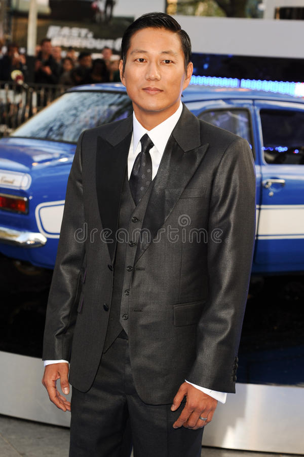 Sung Kang. Arriving for the 'Fast And Furious 6' Premiere, at Empire Leicester Square, London. 07/05/2013 Picture by: Steve Vas / Featureflash royalty free stock image