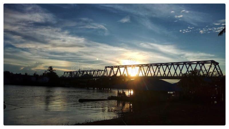 Sungai Kapuas foto de archivo