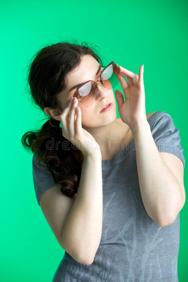 Download Sunglasses stock image. Image of people, beautiful, toned - 14819835