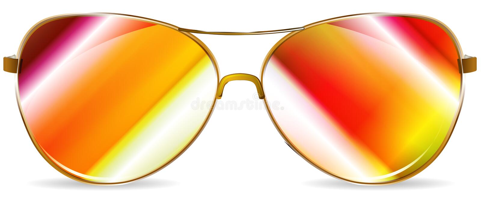 Download Sunglasses stock vector. Image of gradient, fashioned - 20775902