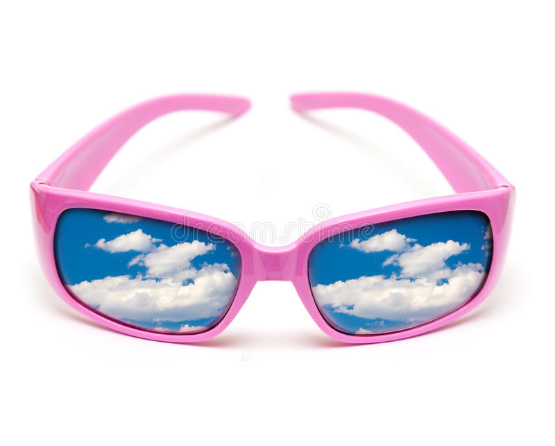 Download Sunglasses stock image. Image of pink, reflections, bright - 9461883