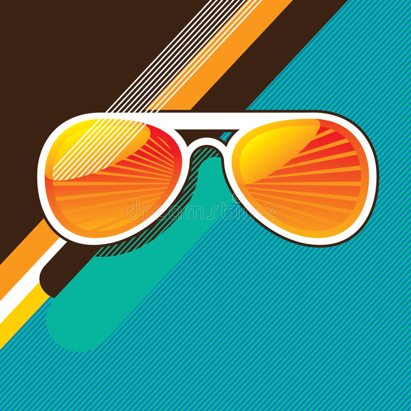 Sunglasses royalty free illustration