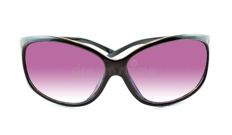 Sunglasses. Black Sunglasses on white background royalty free stock images