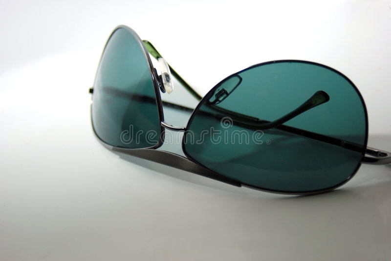 Sunglasses bottom up stock images